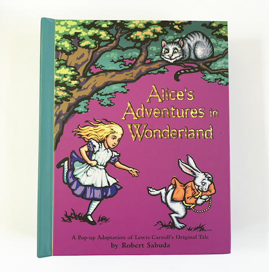 Arlo's Book Club Magical Wonderment: Alice in Wonderland Pop-Up Book