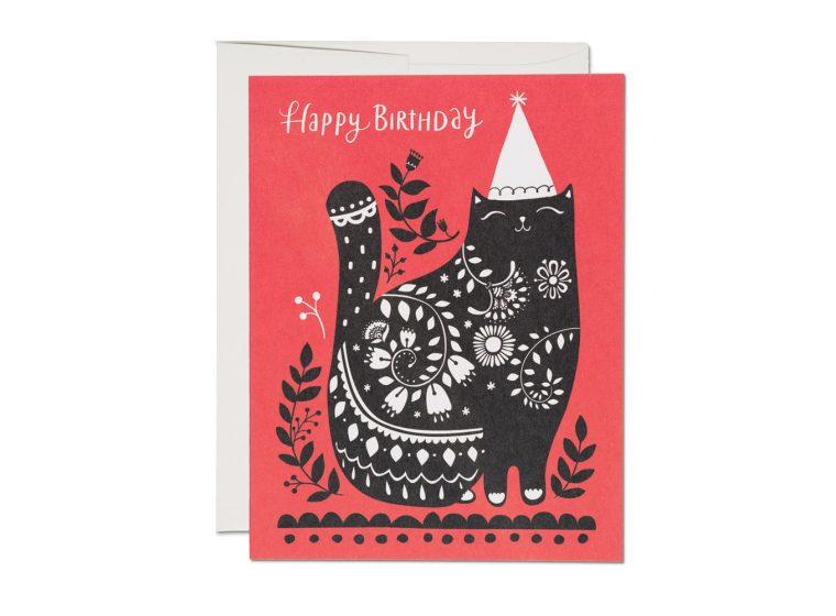 Black Cat Birthday
