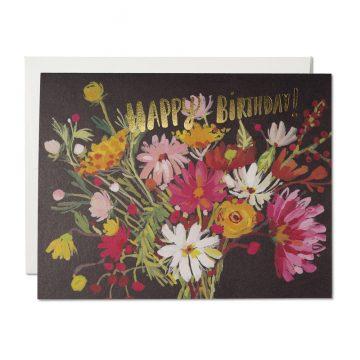 Vintage Happy Birthday Bouquet