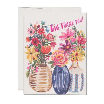 Ceramic Vase Thank You
