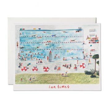 Pool Side Fun Times