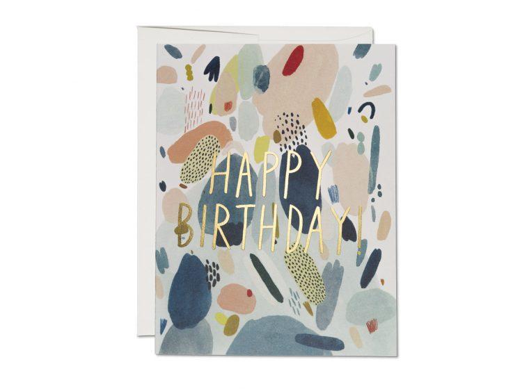 Abstract Birthday