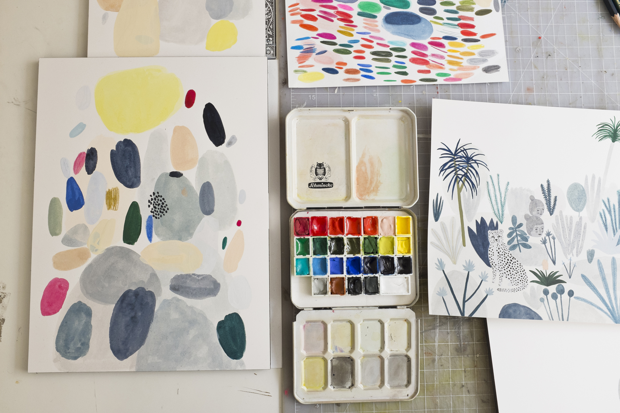 Kate Pugsley Paints and work