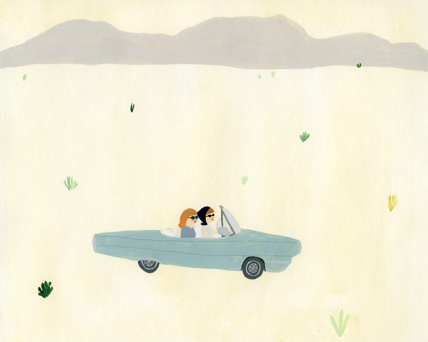 Kate Pugsley's Thelma and Louise