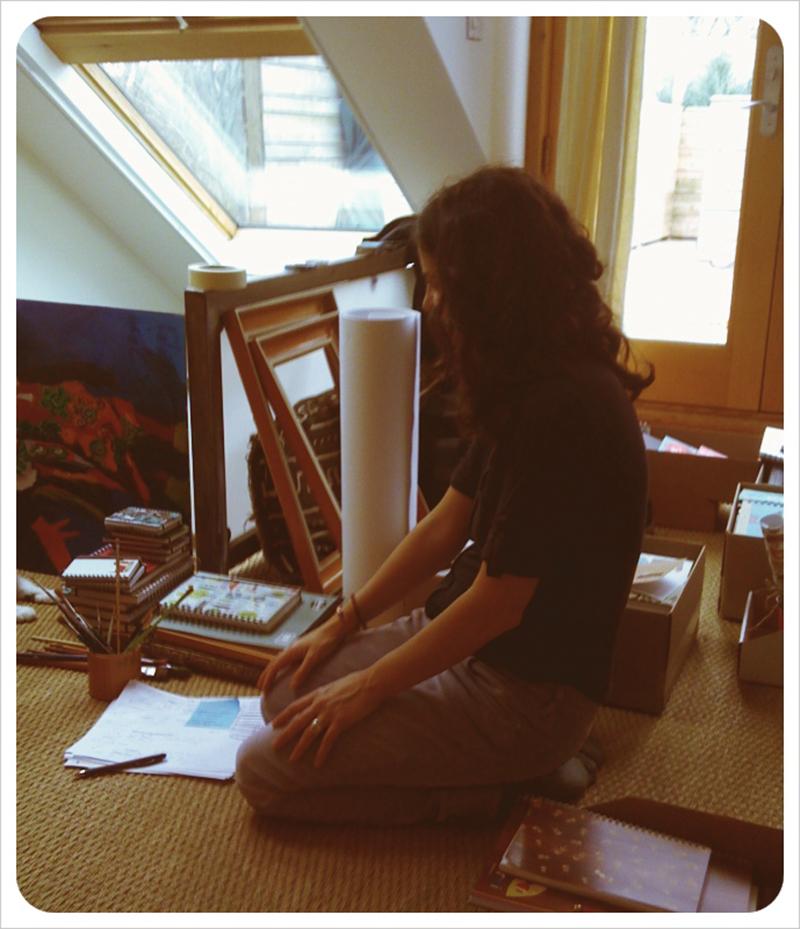 Carolyn_working