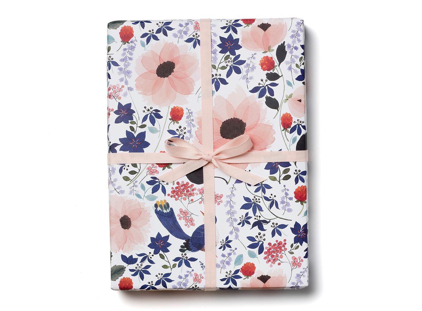 Violet Birdy Wrap