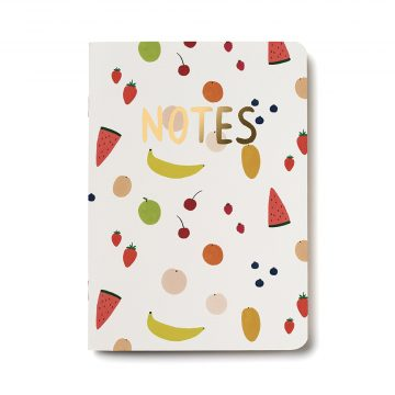 Fruits Notebook