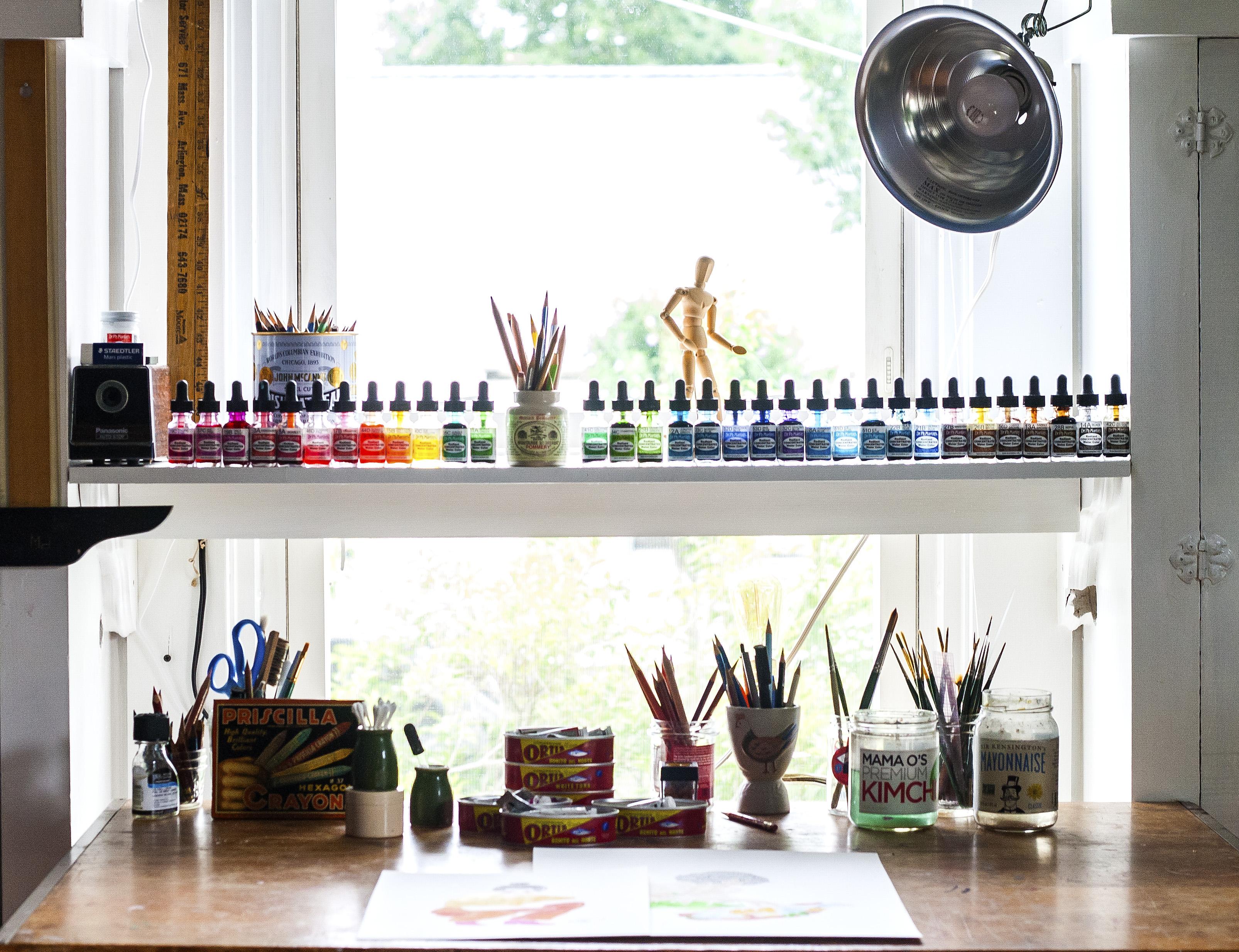 Priscilla Weidlein studio