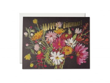 Vintage Happy Birthday Bouquet