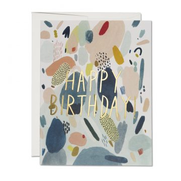 Abstract Birthday