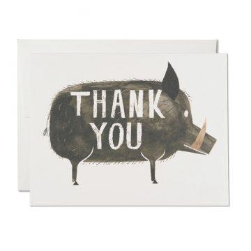 Grateful Boar
