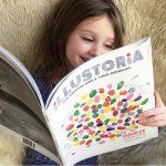 Illustoria Magazine and Arlo of Red Cap Cards