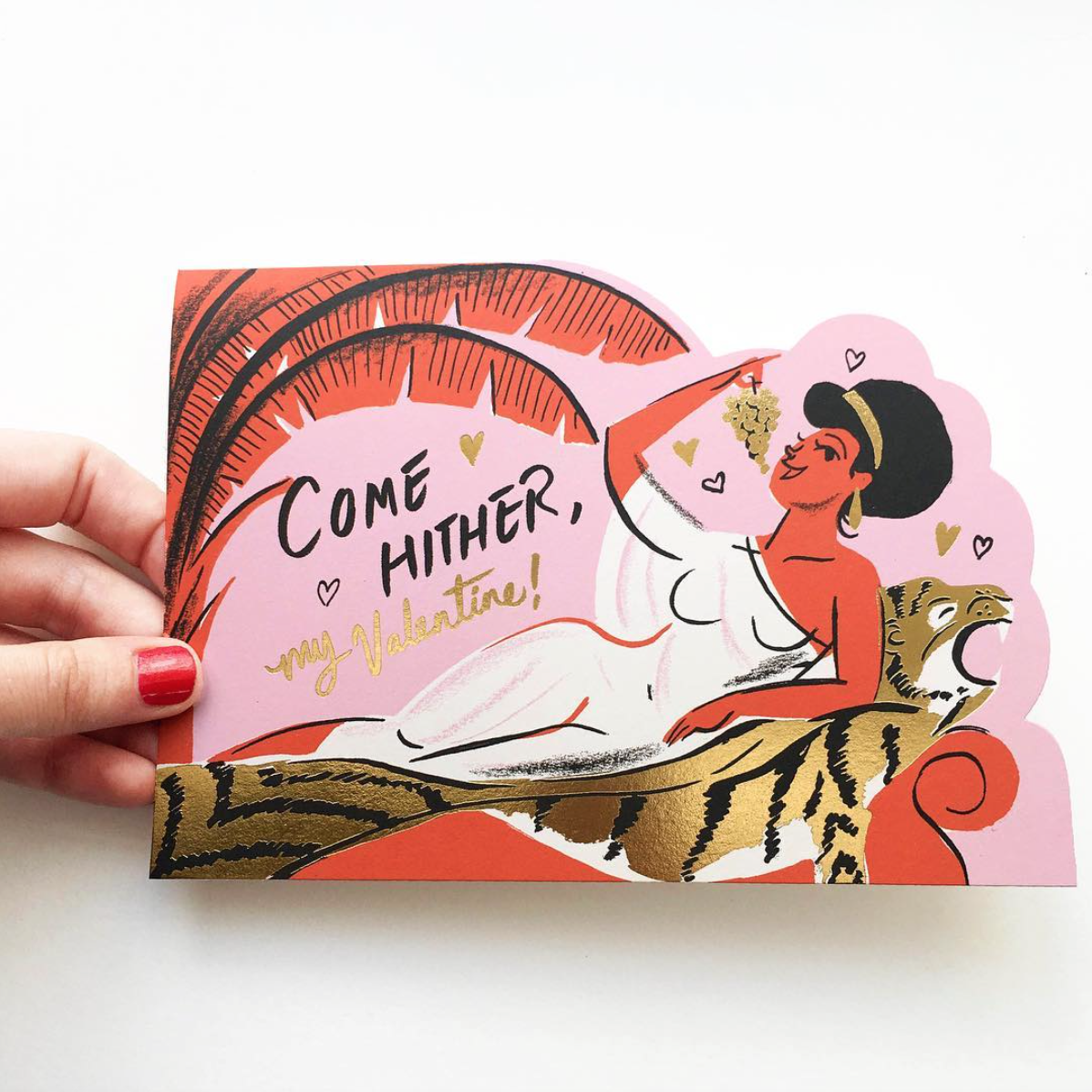 Cleo Die Cut Card By Nicholas John Frith