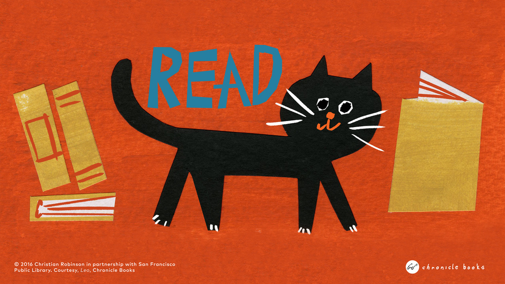 Illustration By Red Cap Cards Artist Christian Robinson For The San Francisco Public Library Courtesy Chronicle Books